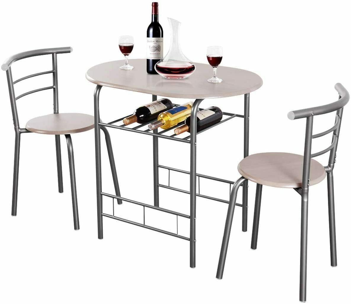 Dining Table 2 3 PCS Bistro