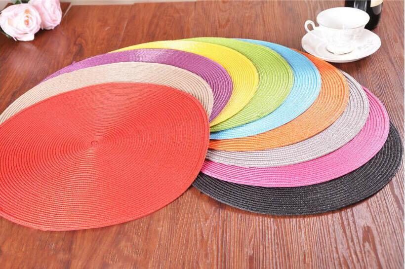 Set 4 Insulation Home Dining Table Place Mat