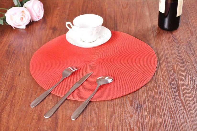 Set 4 Insulation Pad Table Bowl Place Mat