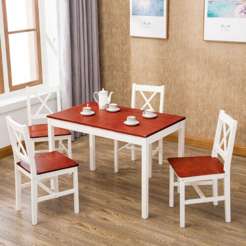 dining table set of 5 with 4
