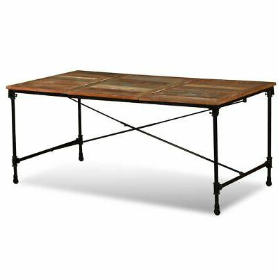 """Dining Reclaimed Wood 70.9"""""""