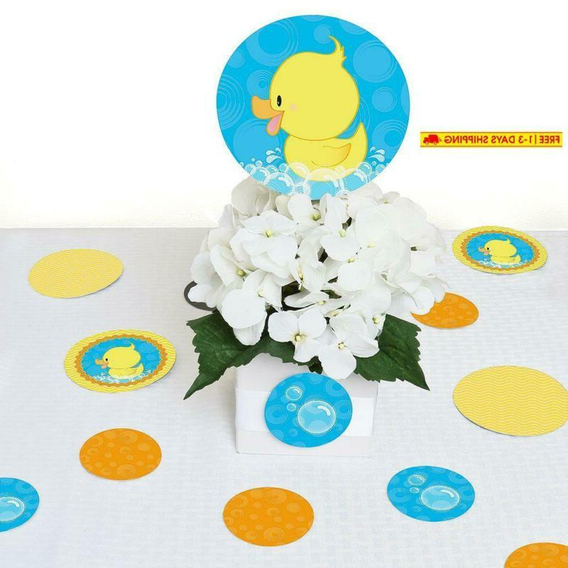 Big Ducky - Baby Shower Giant Circle