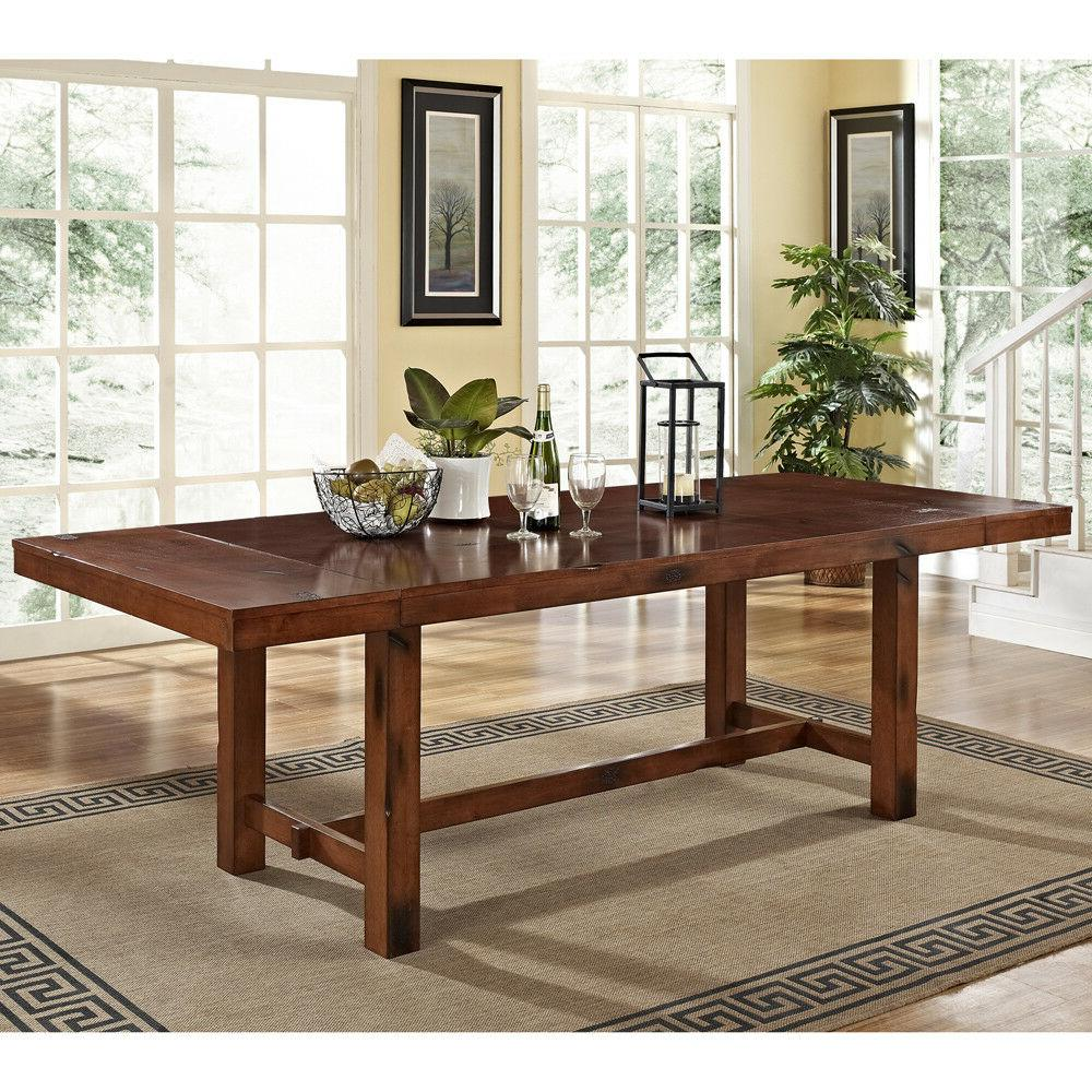 extra large rustic adjustable wood expandable double