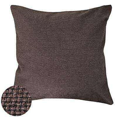 Deconovo Faux Linen Pillow Cover Hand Made Decorative Pillow