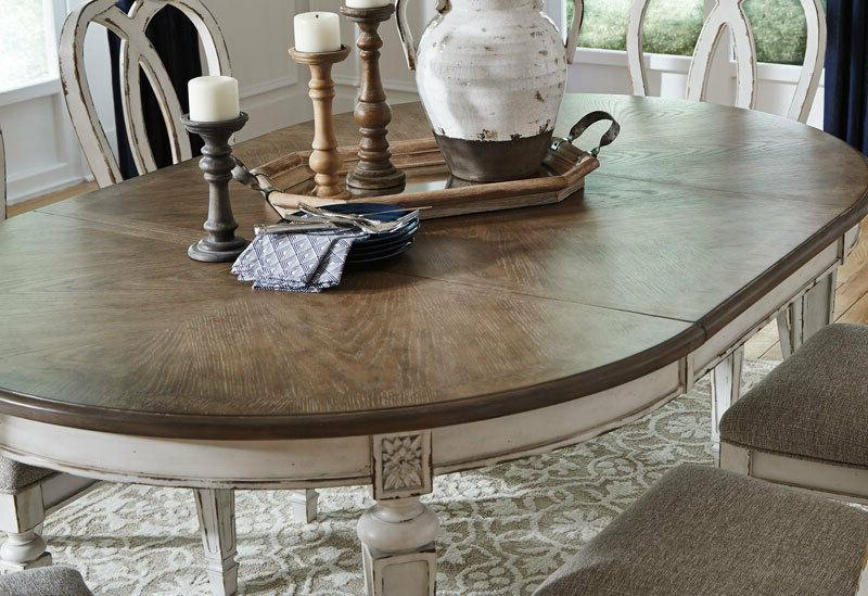 French & 7pcs Dining Room Set