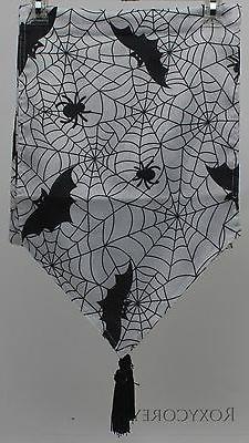 Halloween Benson Mills Crawly Creatures White Spider Web Bat