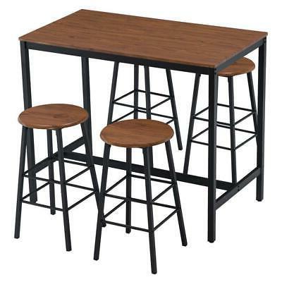 High 5 Dining Set Kitchen 4 Bar