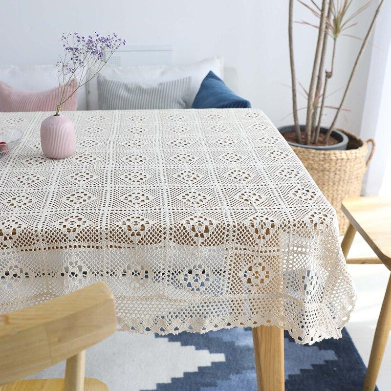 Hollow Lace Tablecloth Tafelkleed mantel mesa