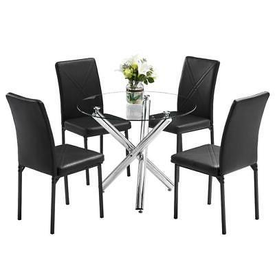 home kitchen 5 piece dining set table