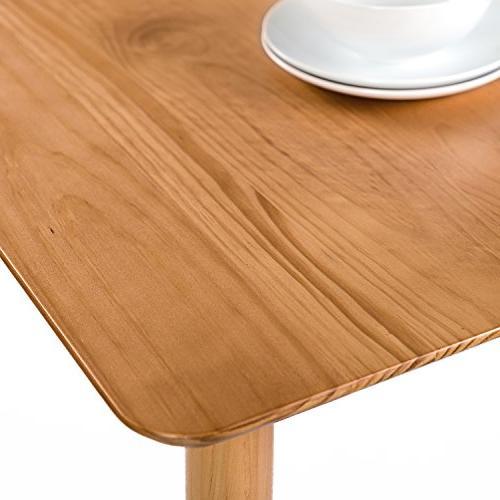 Zinus Wood Table Natural
