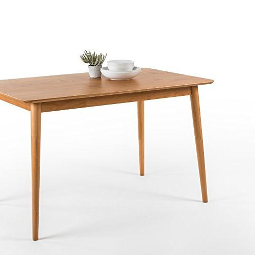 Zinus Jen Wood Table Natural