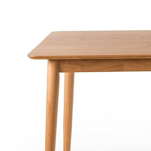 Zinus Jen Wood Dining Table / Natural