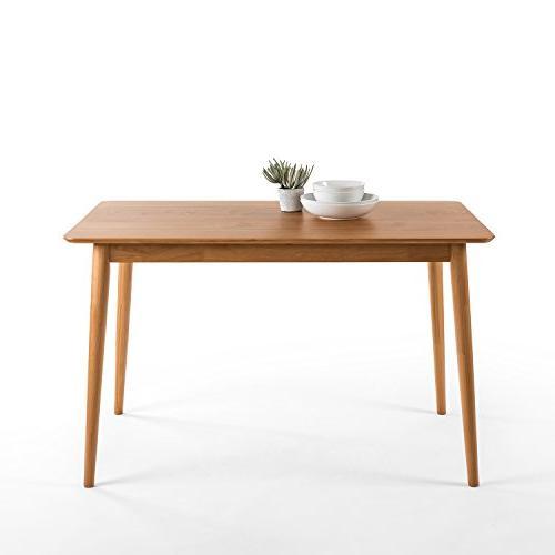 mid century modern wood dining