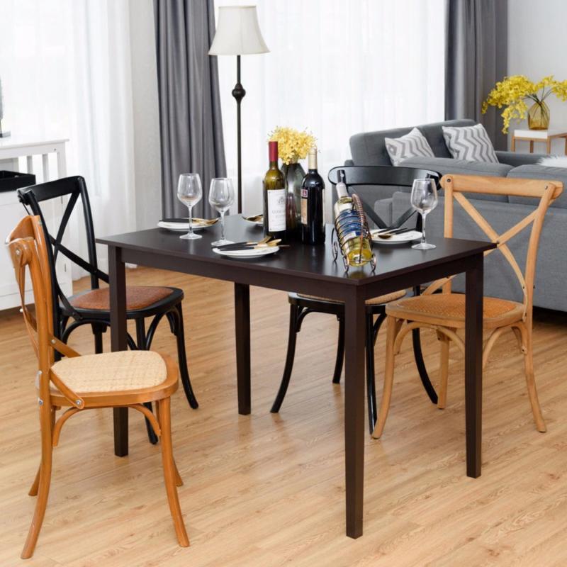 Giantex Rectangle Table Legs Living Furniture