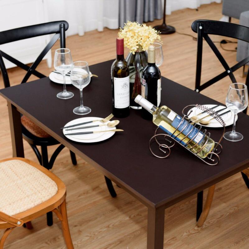 Giantex Rectangle Dining Table Wooden Kitchen Living Room Furniture