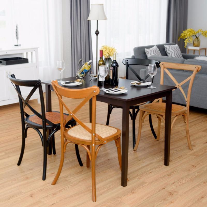 Giantex Modern Rectangle Table Living