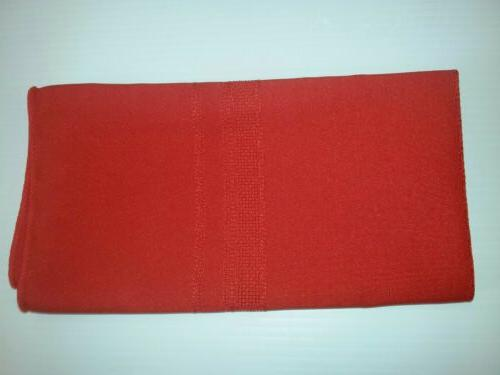 New Red Placemats Setting Dining Mats .Size 41cm