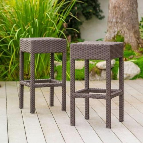 Outdoor Patio Garden Table Stools Chair NEW