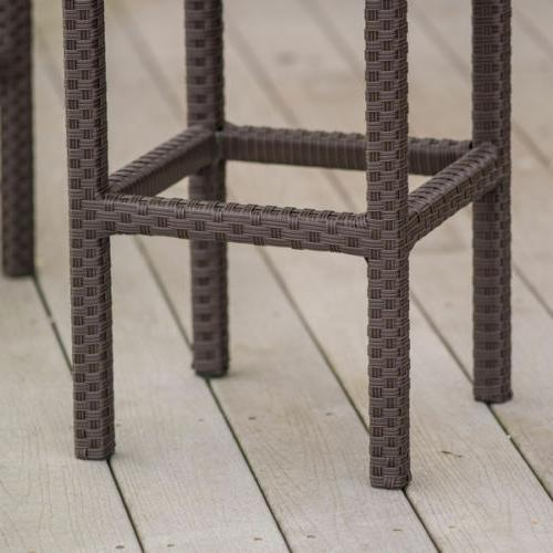 Outdoor Bar Set Lawn Patio Stools Furniture NEW