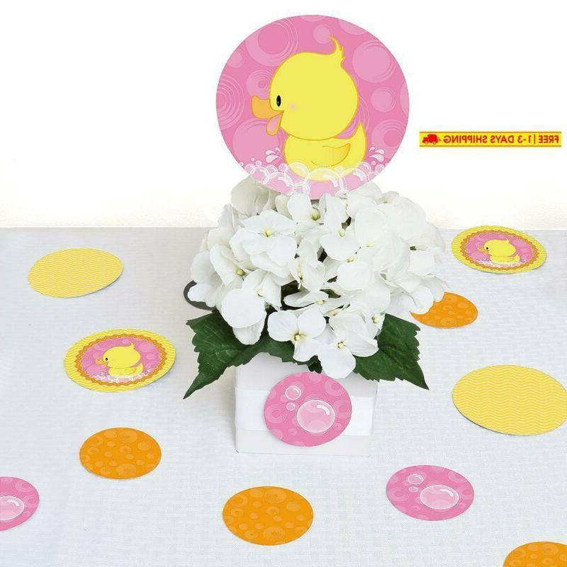 Big Happiness Pink Ducky Girl Birthday