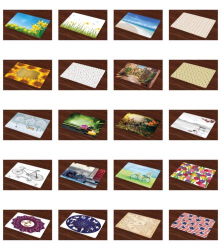 Ambesonne Place Mats of Placemats for