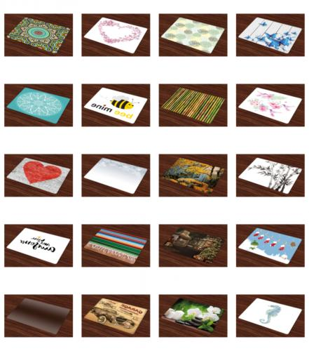 place mats set of 4 washable printed