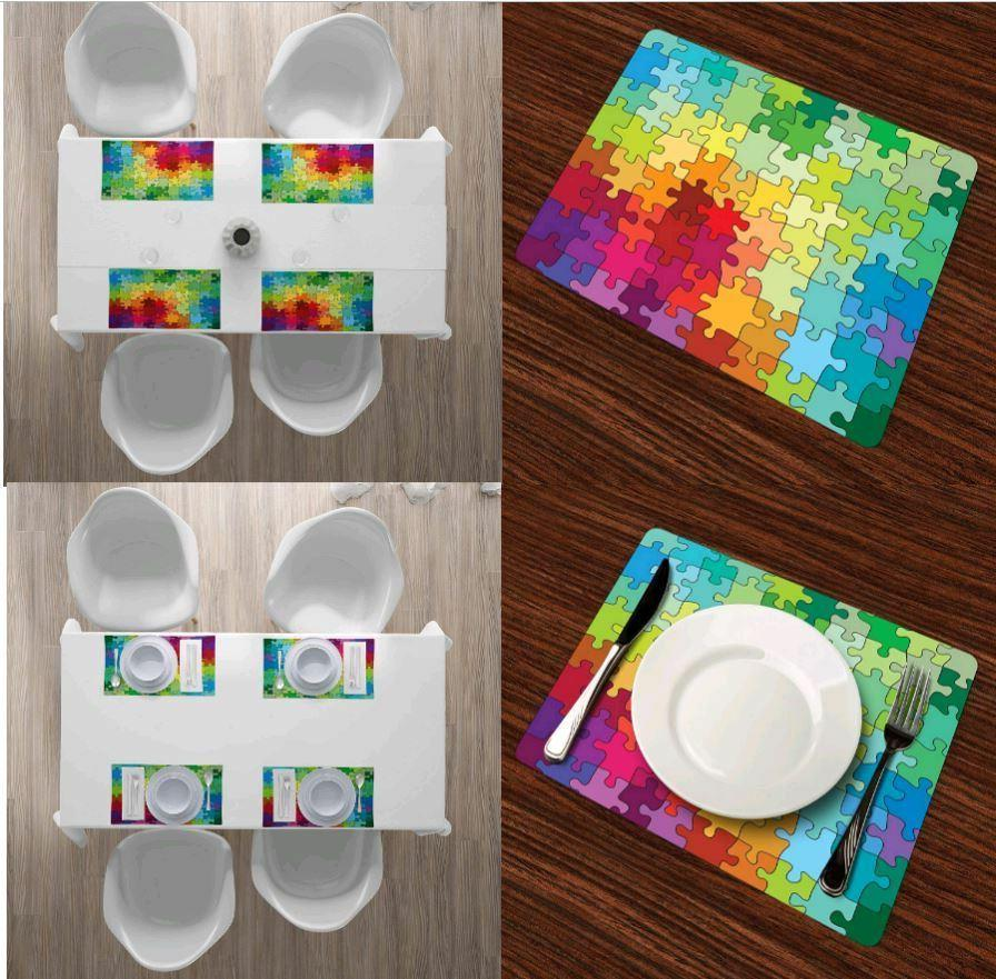 placemat heat resistant for dining table set