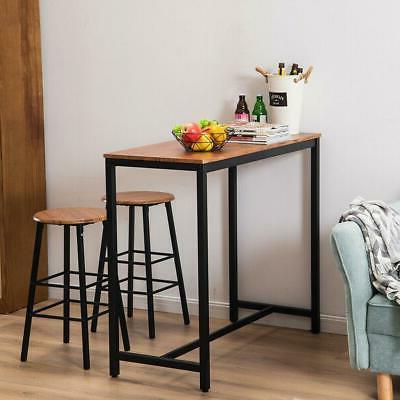 pub table set 3 piece bar stools