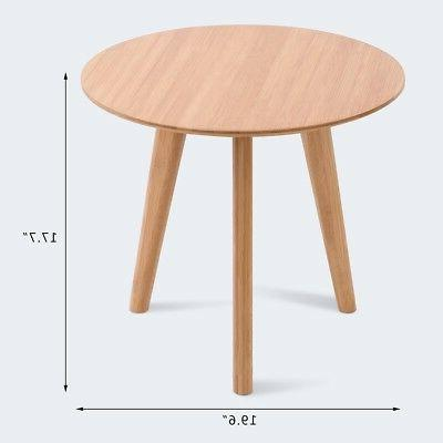 Round End Table Table Living Mini Furniture