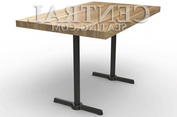 Set End for Restaurant Height Tables, Base