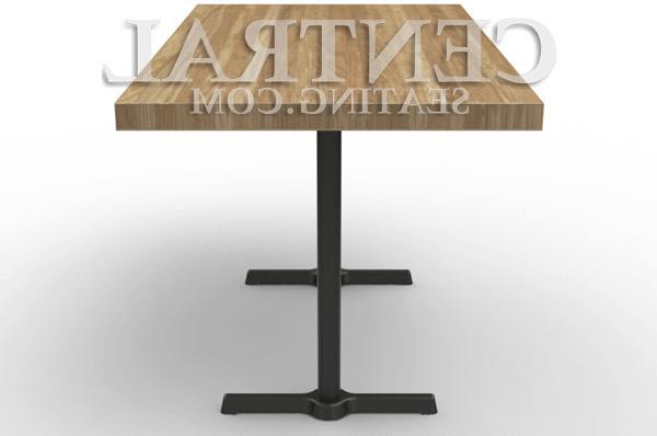 Set 2 End Table Base for Restaurant Tables, Base