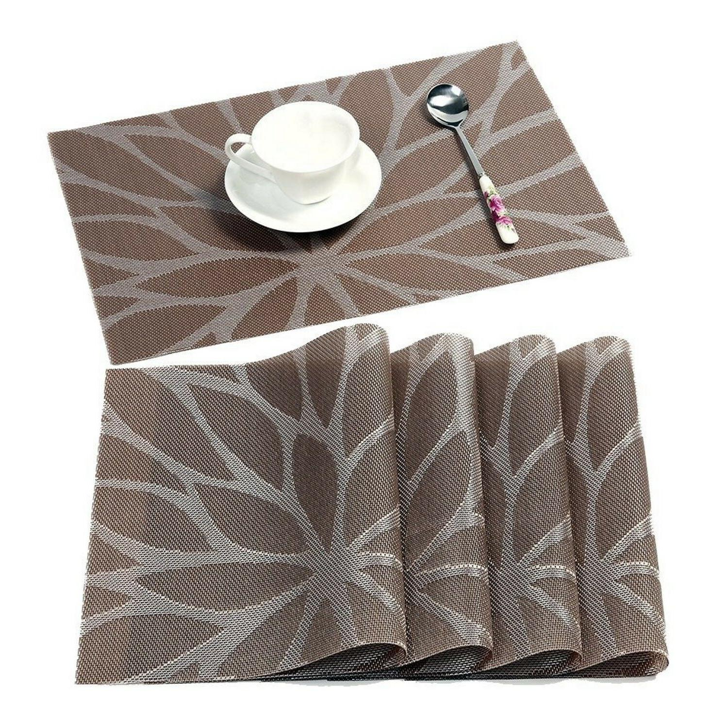 Dining Heat Fall Brown Woven