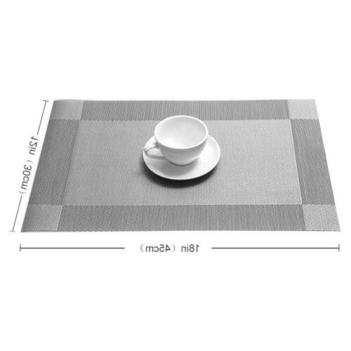 Set Dining Table Place Mats