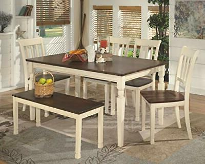 Signature by Ashley Whitesburg Dining Room Brown/Cottage White