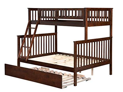 woodland twin over bunk bed