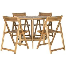 Safavieh Outdoor Living Collection Kerman 5-Piece Dining Set