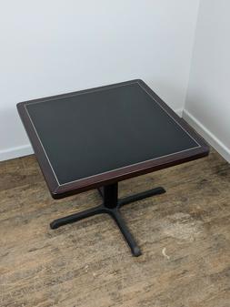 Mahogany Rim Table - Square
