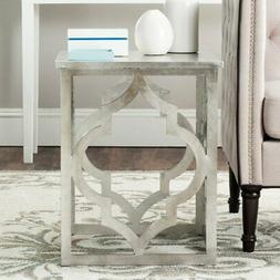 Safavieh Milo Trellis Silver Leaf End Table