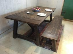 Modern Arhaus Dining Table Desk Medium Length