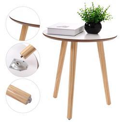 Modern Round Coffee End/Tea Table Living Room Wood Furniture