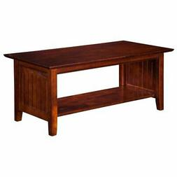 Atlantic Furniture Nantucket Coffee Table in Walnut