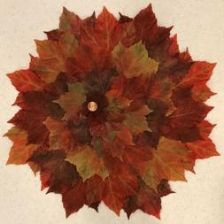 NWT Pier 1 Set of 4 Fall Leaves Placemats 🍁  Autumn Table