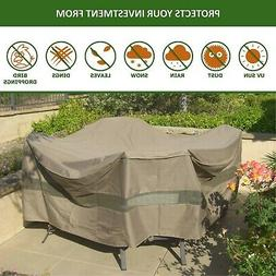 Patio Set Cover 104Dia. Fits square, Oval or Round table set