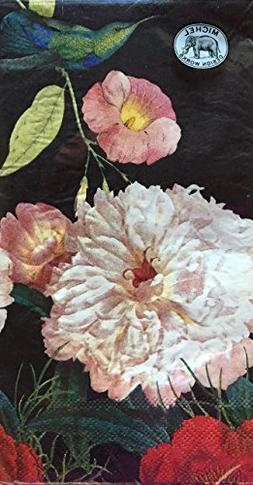 Michel Design Peony Blossom Paper Hostess Napkins, Package o
