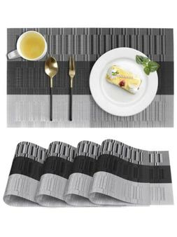 Placemats for Dining Table, Washable Heat-Resistant Table Ma
