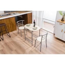 PVC Natural Breakfast Desk Dining Tables And Chairs Modern O