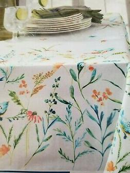 Rectangle Tablecloth 52 x 70 cafe style  Milly Spring Birds