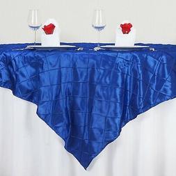- BalsaCircle 180cm Square Pintuck TABLE OVERLAY Wedding Pa