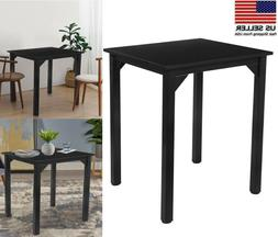 Small Dining Square Kitchen Table Laptop Desk Computer Table
