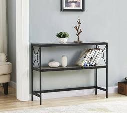 Sofa Table Rustic Console Furniture Accent Industrial Entryw